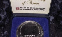 8 August 1967 ASEAN was formed. A piece of commemorate,