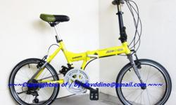 ~~~ 10Kg ALeoCa RoaDie 2 FoLDiE BiCyCLe WITH RACE