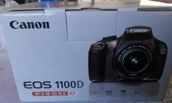 1100D EF-S 18-55 IS II - BRAND NEW Never used. Won in a