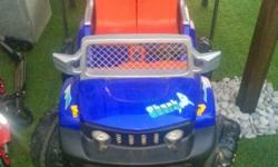 I am selling a 4x4 Jeep that two toddlers up to 8 years