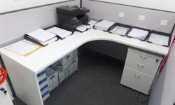 13 OFFICE DESKS FOR SALE HEIGHT - 25 INCH LENGTH - 60