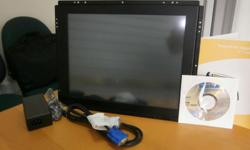 "OEM Industrial Grade - OPEN Frame 15"" VGA monitor with"
