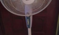 "16"" morries stand fan interested buyer, please sms"