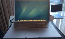 Up for sale is my 17� Macbook Pro. The specs are as