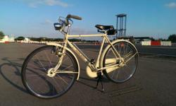 1950's Raleigh Sports with hub brakes, dual kick stand,