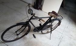 Bicycle from the 1960s. Interested call Jason at
