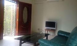Furnished large 1+1 unit for rental. Comes with