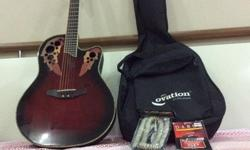 Hi I'm selling a 1.5 years old and seldom used Ovation