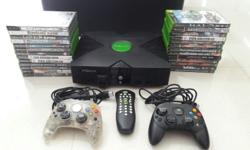Have this full set of 1st Generation Xbox with 2