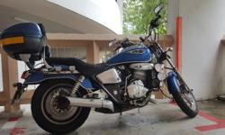 i am selling my phantom150cc COE till 2021 Blue +