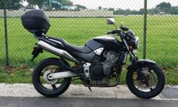 Fast pickup . Responsive engine Excellent sports bike