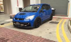 Selling off Mitsubishi colt turbo version r at only at