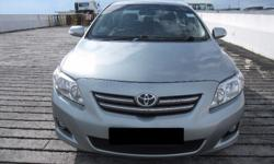 Toyota Altis 1.6cc for your Grab/UBER Assignments.