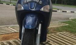 Piaggio Liberty 200 With beautiful number Original