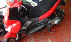 GILERA RUNNER ST200 , RED COLOUR NEW PAINT WORK, IN