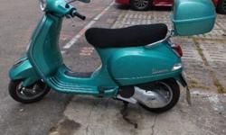 Vespa LX 150 3v is owner upgrade to class 2 bike