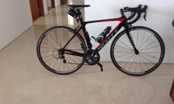 I am selling my road bicycle as I do not do much