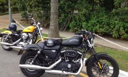 Sell Harley Davidson XL883 Iron, model 2014, Black