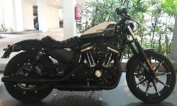 Brand new 2017 Harley Davidson Iron 883 Sportster. Its