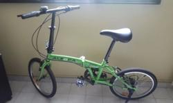 "Dear Sir / madam , I have 20"" Aleoca folding bike - 3"