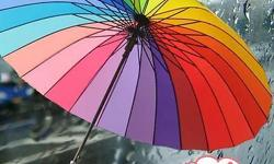 UBR003�24-rib 2-3 people rainbow umbrella�market price