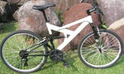 Mongoose mountain bike with Rock Shox suspension Front