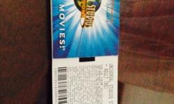 2 Adult Universal Studio Tickets Valid till 4 oct 2014