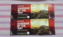 2 child tickets for flower dome + cloud forest at