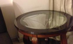 Selling as a bundle 2 Coffee Tables (Big & Small, Glass