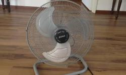 2 fans less than a year old in excellent condition
