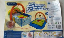 Lucky Baby 2 in 1 Moses Basket and Play mat. Cost $79