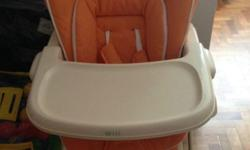 Rocker integrated with high chair. Can be used before