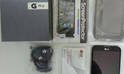 Selling like brand new condition LG Optimus G Pro model