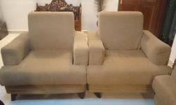 Hi selling 2 single seat sofa used for about 1 year..