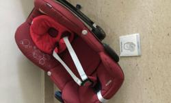 We have 2 almost new Maxi Cosi Pebble baby seats with