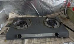 2 years old Tecno Gas stove TTC-0311 (connectable to