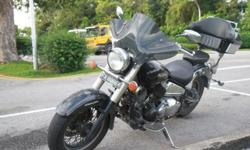 Hi, I am selling my loved bike Yamaha XVS 400 Dragstar.