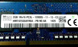 Removed From Brand New Thinkpak SK HYNIX 2GB DDR3L
