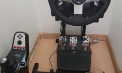 2nd hand driving simulator (LogiTech): 1. Used for