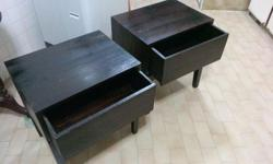 2x Bedside Table for sale, condition 8/10 @ a price of