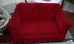 King Koil Fabric Sofa in good condition. Fabric