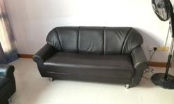 Sofa used only for 18 months. Selling because we are