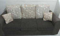 3 + 2 seater Sofa, Fabric cover , washable , good