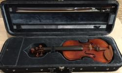 Mandeville 3/4 violin. Kid has outgrown and moved to