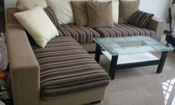 3 piece sofa set for sale. In good condition and comes