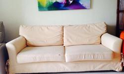 Used 3 seater sofa still in good condition. 1.88M (L) x