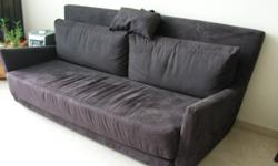 Extremely comfortable 3 seaters sofa. Great design.