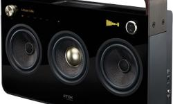 The 3 Speaker Boombox Audio System is designed to play