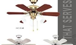 Selling 3 used ceiling fan for $100.   Two sets are AMC