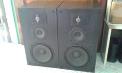 JBL 3 WAYS JBL TLX50 BOOKSHELF SPEAKERS, BUILT IN 8